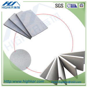 Interior Wall Cellulose Fiber Cement Board Wall Sheet pictures & photos