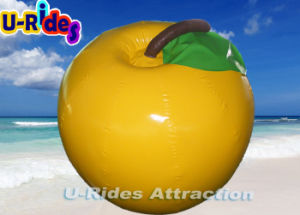 Yellow Apple shape sea Inflatable Floating Buoy pictures & photos