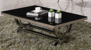 Black and White Coffee Table Set pictures & photos