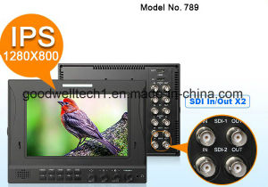 Dual 3G/HD-Sdi 7 Inch IPS HD Sdi Monitor with Seamless Switch pictures & photos