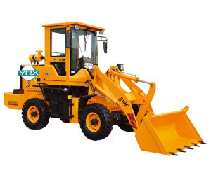 Ce Approved 1800kg Wheel Loader with Bucket Capacity 0.8m3 pictures & photos