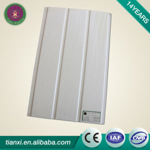 Laminated Surface PVC Ceiling Tiles with Two Grooves pictures & photos
