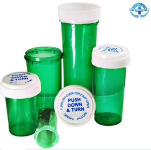 Plastic Flip Top Cap Vials with Colors Random pictures & photos