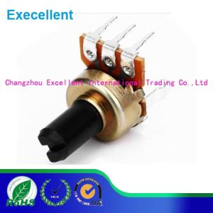 3 Pin Waterproof Variable Potentiometer Golden Color