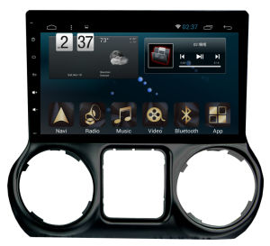 New Ui Android System Car GPS for Jeep Wrangler 2013 with Navigation Car Player pictures & photos