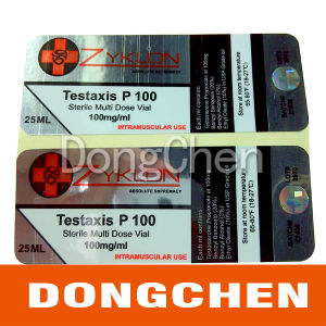 Top Quality Testosterone Enanthate 10ml Vial Labels pictures & photos