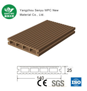 Factory WPC Hollow Decking for Outdoor pictures & photos