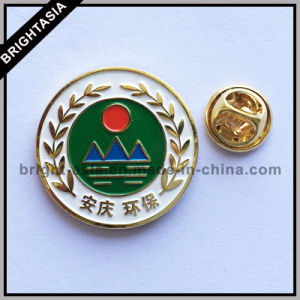 Environmental Protection Customized Custom Metal Lapel Pin (BYH-101167) pictures & photos