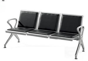 Stainless Steel Bank Hospital Airport Public Waiting Bench Chair (HX-PA68) pictures & photos