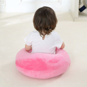 Round Solid Color Handmade Baby Pillow pictures & photos