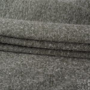 Wool/Cotton Fabric for Winter Coat in Green pictures & photos