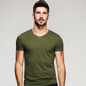 Chinese Supplier 100%Bamboo Cotton T Shirt pictures & photos
