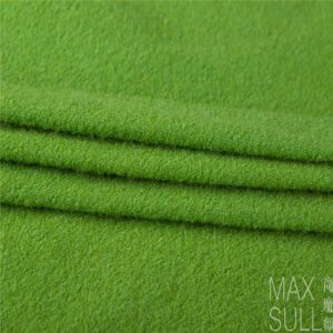 Nine Kinds of Colours of Wool/Nylon Fabric in Green pictures & photos