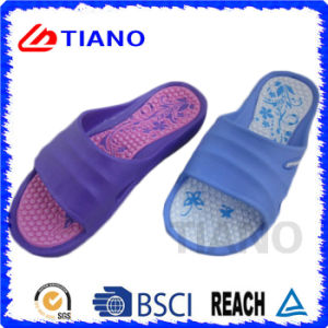 New Comfortable Healthy Printed EVA Slipper for Women (TNK35838) pictures & photos