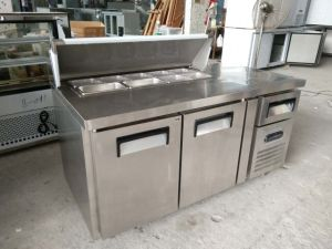 Customized Marble Pizza/Sandwich Refrigerated Workbench pictures & photos