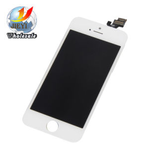 White and Black Generic Digitizer & LCD Assembly for Apple iPhone 5 pictures & photos