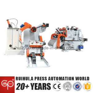 Uncoiler Straightener Nc Servo Roll Super Thick Coil Feeder, 3 in 1 (MAC4-1600) pictures & photos