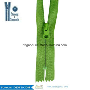 High Quality 3# Waterproof Nylon Zipper for Shoe Garment Home Textile Bags Use pictures & photos
