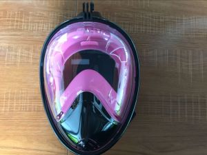 Anti-Fogging Diving Mask Gopro Camera Mount Easybreath Full Face Snorkel Diving pictures & photos