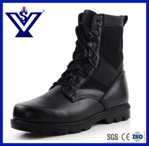 Skid Resistance Army Combat Boots with Steel Toe (SYSG-006) pictures & photos