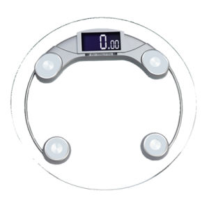 200kg/50g Clear Glass Household Health Body Scale pictures & photos