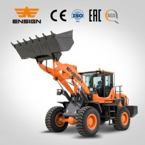 Hot Sale: Ensign Brand 3 Ton Front Wheel Loader Yx636 pictures & photos