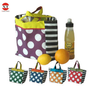Promotional 600d Polyester Shpping Foldable Bag with Customised Logo pictures & photos