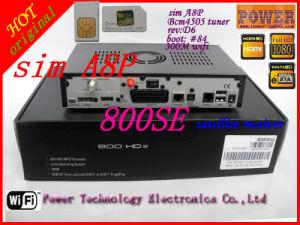Dm 800HD Se with Original SIM A8p Security Card Linux TV API Receiver Dm800se DVB-S Satellite Receiver