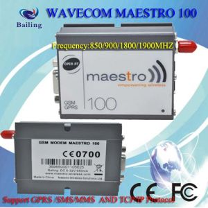 GSM/GPRS Maestro 100 Modem with TCP/IP Base on Wavecom Q24plus Module