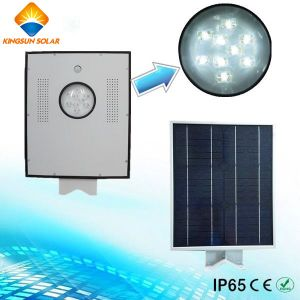 9W Integrated Solar LED Street Light pictures & photos