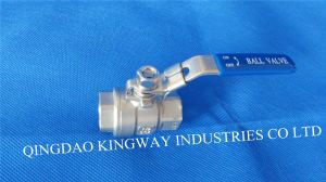 Stainless Steel 2-PC Ball Valve (BT-2F) pictures & photos