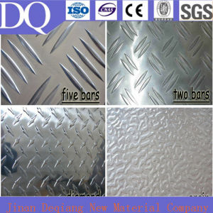 Anti-Slip Pattern Aluminum Sheet/Treadplate Embossed Aluminum