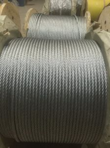 PC Strand Galvanized Steel Wire Rope 1X7 Price pictures & photos