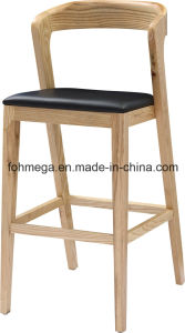 Super Quality Modern PU Leather High Bar Chair (FOH-BCA78) pictures & photos