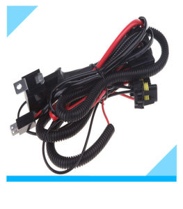 Auto Vehicle Car Xenon HID Conversion Kit Relay Wiring Harness pictures & photos