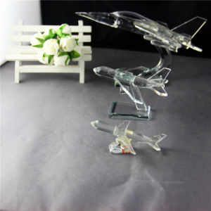 Professional Crystal Plane Model for Home Decoration