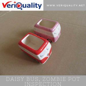 Daisy Bus, Zombie Pot Quality Control Inspection Service at Dehua, Fujian pictures & photos