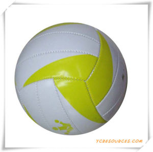 PVC Material Official Size 18 Panels Laminated Volleyball for Promotion pictures & photos
