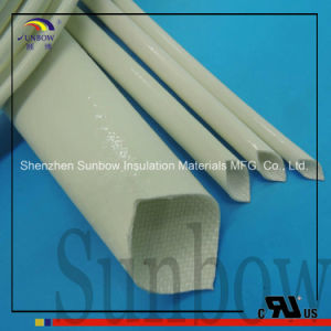 High Temperature Resistant Silicone Rubber Fiberglass Wire Sleeve pictures & photos