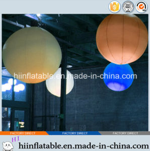 2015 Hot Selling Decorative LED Lighting Inflatable Ball 0002 for Party, Home, Christmas Decoration