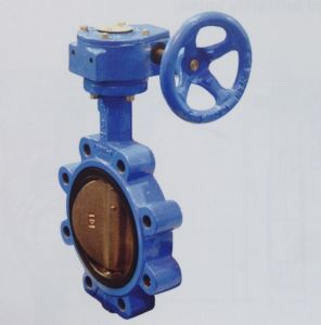 Soft Seal Wafer Rubber Lined Butterfly Valve