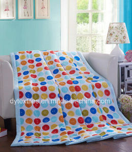 Wholesale 100% Polyester Disperse Printed Quilt pictures & photos