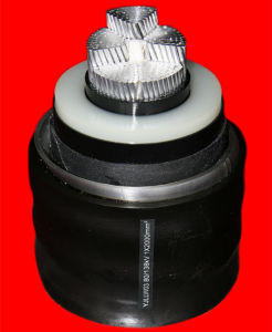 220kv Power Cable with Cu/XLPE/CAS/HDPE-1800mm2
