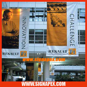 PVC Backlit Flex Banner Solvent Inkjet Media Vinyl (SB532/610g) pictures & photos