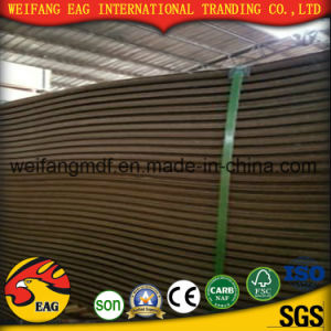 2.0mm Dark Brown Color High Density Very Strong Hardboard pictures & photos