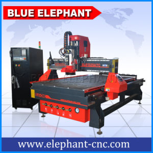 Ele 1325 Automatic Tool Change Wood CNC Router, 3D CNC Wood Router for Computer Cabinet Making pictures & photos