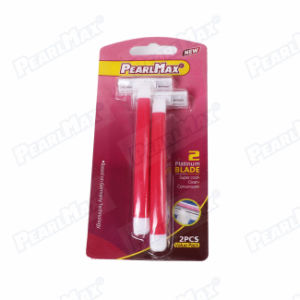 Pink Color Hot Selling Sweden Stainless Steel Blade Lady Razor pictures & photos