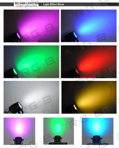 36PCS 3W RGB Outdoor IP65 Stage Event LED Wash PAR Can Light pictures & photos