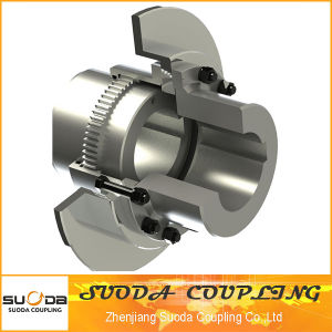 Suoda Gear Coupling with Brake Plate Good Quality High Transmission Efficiency Gap Type pictures & photos