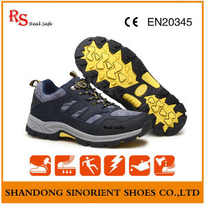 Slip Resistant Outdoor Safety Shoes with Soft Sole Rj105 pictures & photos